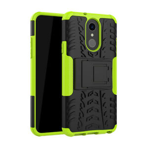 Case for LG Q7 / Q7a, Hybrid Armor Shockproof Protective Cover with Kickstand