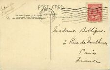 to FRANCE 1905 Board of Trade Montreal, Edward issue Post Card Canada