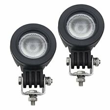 WEISIJI Led Flood Driving Lights10W Mini Round Tail Cree Fog Lamp for Bicycle...