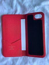 LOUIS VUITTON AUTHENTIC Monogram Pink Phone Folio Case IPHONE 7 IPHONE 8