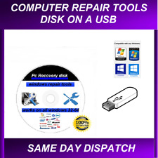 WINDOWS REPAIR-RECOVERY USB -FOR ALL WINDOWS COMPUTERS