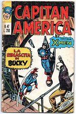CAPITAN AMERICA corno N.47 LA RINASCITA DI BUCKY x-men origini iceman