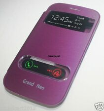 S View Slim Battery Cover Flip Leather Case For Samsung Galaxy Grand Neo i9060