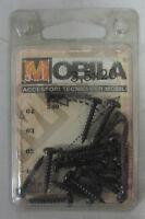 Mobila 20 Vis Galvanisé Noir X Fixation 3,5 X 20 MM Croix Tête Cylindrique