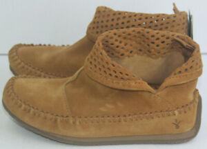 Brand New Emu Australia Tan Ghostgum Suede Boot Size 5