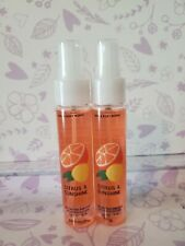 Bath & Body Works CITRUS & SUNSHINE ~ Hand Spray x 2 FREE Shipping