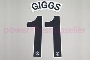 Manchester United 2010/2011 #11 GIGGS Awaykit Nameset Printing