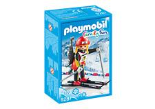 9287 Esquiadora tiro olímpico playmobil invierno,winter,nieve,snow,ski