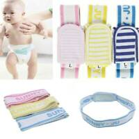 Baby Diaper Buckle Changing Fasteners Nappy Belt Fixed Waist Band Belt Q