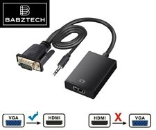 More details for vga male to hdmi female 1080p output hdtv audio video cable converter adapter