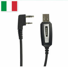 org.USB CAVO DI PROGRAMMAZIONE PER Baofeng GT-3, UV-82L, UV-5R & Plus2-Pin Radio
