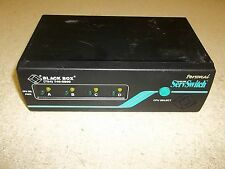 Personal Black Box ServSwitch Model SW626A-R2 *FREE SHIPPING*