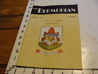Vintage Bermudian magazine: FEBRUARY 1946, 40 PAGES