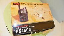 Horizon Hx460S Handheld Vhf Waterproof Marine Radio Transceiver Nice Condition!