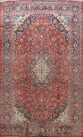 Floral Semi Antique Traditional Handmade Area Rug Living Room Wool Carpet 9x13
