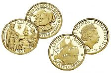 400th Anniversary Of The Mayflower Voyage Two Gold Coin Proof Set