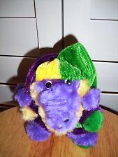 Plush purple Alligator in joker outfit