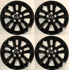4 NEW 16 GLOSS BLACK Hub cap Wheelcover that FIT 2007-2018 Nissan ALTIMA