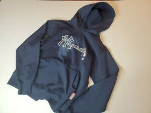 Majestic New York Yankees 2011 Playoff Hoodie size small