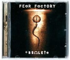 CD ★ FEAR FACTORY - OBSOLETE ★ 10 TRACKS ALBUM ANNEE 1998 ★