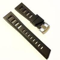 New Premium Ploprof Rubber Watch Diver Strap Band PAM Luminox Diver Luminor