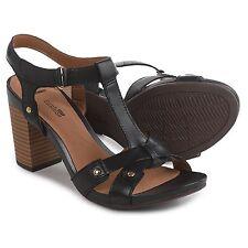 a286cfd06 Clarks Banoy Valtina Cushion T-strap Dress Sandals 033 Black 9 US / 40 EU