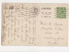 Miss Maud Studd Harold Villas Wood Street Wallingford 1914 430a