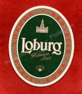 sous-bock LOBURG Premium Beer (envoi monde gratuit) sb2282