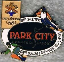 LE 2002 Salt Lake City Park City Olympic Snowboarding Sports Venue Pin