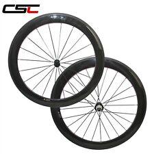 23mm Width U shape 60mm Clincher SAT carbon road wheelset 1550g only