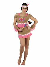 Kostüm luxe sexy Indianerin rosa Malila (M) Karneval Fasching