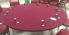 Game table cover in Poker Felt Tablecloth - Majhhong w/ elastic edge  MTO