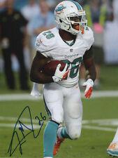 Lamar Miller Miami Dolphins Football SIGNED 8x10 Photo COA!