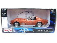 Maisto 1970 Chevrolet Corvette Bronze 1/24 Diecast  Car 31202BRZ