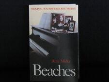 Beaches. Film Soundtrack. Cassette tape. 1988. Made In Australia