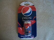 .15 Oz Pepsi Wild Cherry Flavored Lip Balm In A Can By Lotta Luv, NEW IN PACKAGE