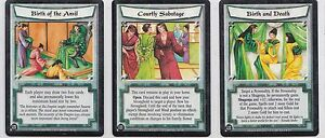 L5R - Paket Of 3 Cards - - Selten - Legend Of The Five
