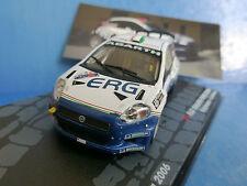 FIAT GRANDE PUNTO S2000 #7 RALLY 1000 MIGLIA 2006 ANDREUCCI ANDREUSSI IXO ALTAYA