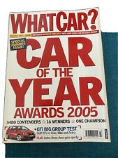 What Car? Magazine - Car Of The Year Awards 2005