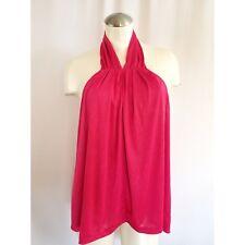 JENNIFER LOPEZ Size XL Pink Halter Top Sparkly NWT
