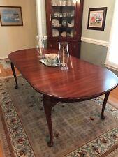 Henkel Harris Cherry Dining Table Queen Anne Model 2205
