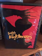 Freddy's Nightmares Complete Series DVD Set Nightmare on Elm Street 4 Disc w art