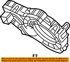 FORD OEM Steering Column-Angle Position Sensor 8T4Z3F818A