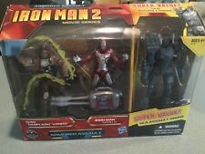 Hasbro Iron Man 2 Movie Series Armored Assault Exclusive 3-3/4 in Scale 3-Pack