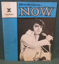 Elvis Presley Hilton Hotel Now Magazine 5th Year February 1973 VG+ Blue