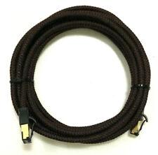 Genuine AudioQuest Cinnamon RJ/E Ethernet Cable - 3 M Length