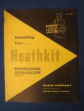HEATHKIT OP-1 ASSEMBLING OWNER MANUAL ORIGINAL FACTORY ISSUE