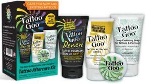 4 in 1 Tattoo kit, Tattoo Goo - Tattoo Aftercare Kit - 4 Piece(s)