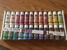 DecoArt Crafters Acrylic Paint 24 Color Value Pack - NEW REDUCED PRICE