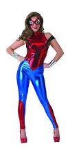 Womens Spider-Girl Jumpsuit Costume Adult Superhero Cosplay Adult Size Medium